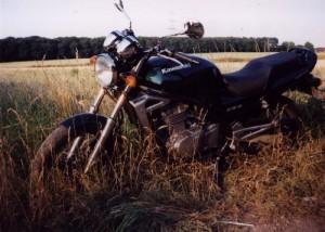 Mein Motorrad Kawasaki ER5 Twister